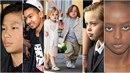 Šest malých dětí, šest potomků Brada a Angeliny. Co jsou zač?