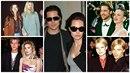 Brad Pitt a jeho ženy a účesy.