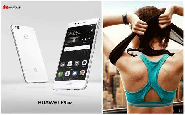 Huawei P9 lite a Huawei Color Band A1 Black