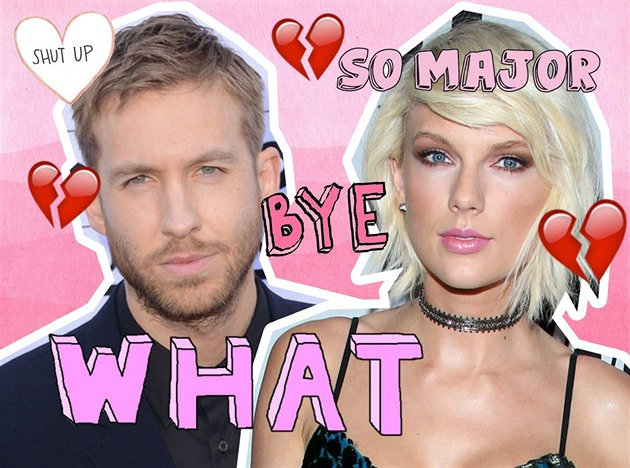 Taylor Swift a Calvin Harris