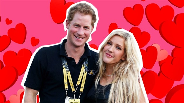 Princ Harry a Ellie Goulding
