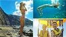 Denisa Grossová se svým o 9 let starším přítelem na dovolené na Zakynthosu.