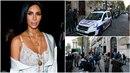 Přepadení Kim Kardashian v centru Paříže. Ne, to není scéna z akčního filmu. To...