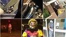 Velkou Británii terorizují lidé v klaunských maskách.