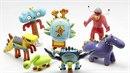 Hračky vytištěné 3D tiskárnou přesně podle dětských obrázků. Každý tak může mít...