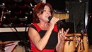 Marie Rottrová nemohla být bez zpěvu.