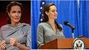 Angelina Jolie bojuje za přijetí uprchlíků v Americe.