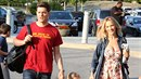 Michael Bublé s manželkou a nemocným synem Noahem.