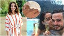Nikola Buranská se zasnoubila na dovolené na Maledivách.