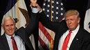 Spolu s Trumpem slavnostní přísahu složí i viceprezident Mike Pence.