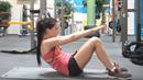 Jako trenérka fitness si Aneta zakládá na správné technice.