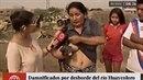 Tohle nikdo nečekal. Žena z Peru v reportáži o povodních v zemědělské oblasti z...
