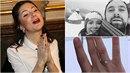 Ivana Korolová nosí zásnubní prstýnek na špatné ruce.