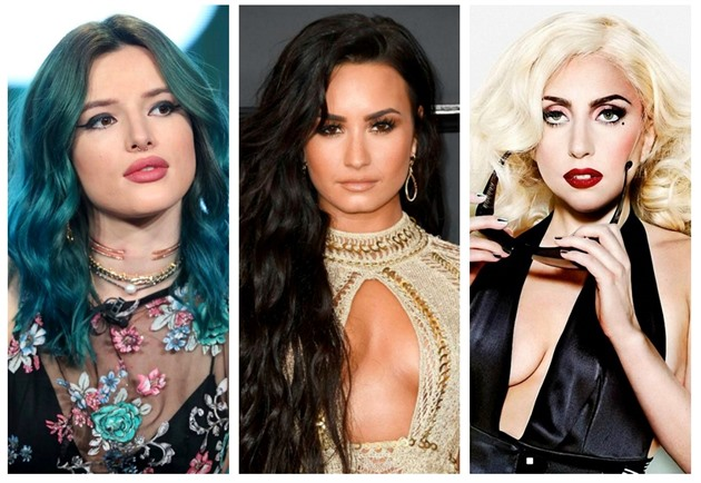 Bella Thorne / Demi Lovato / Lady Gaga