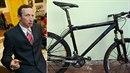 Václav Klaus ml. má důvod ke vzteku. Zloději mu ukradli jeho oblíbené kolo.