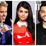 Justin Bieber / Selena Gomez / The Weeknd