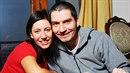 Robert Neff Novák a jeho žena Irena Neffová, kterou uškrtil elektrickým kabelem.