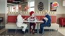 Tři symboly znesvářených fastfoodů u jednoho stolu. Vtipná reklama může začít.