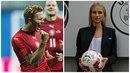 Vítězné gesto je výmluvné: Antonín Barák si našel slečnu, která miluje fotbal.