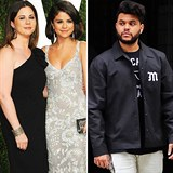 Selena s mámou Teefey / The Weeknd