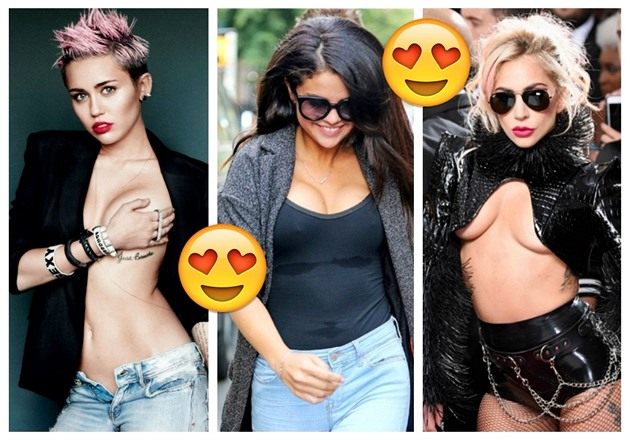 Miley / Selena / Lady Gaga