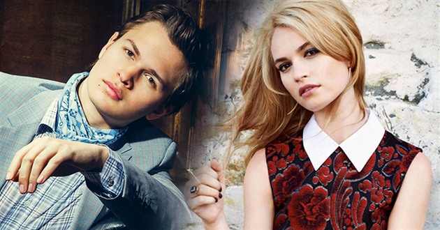 Ansel Elgort / Lily James
