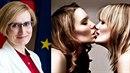Karla Šlechtová (vlevo) podpořila lesby!