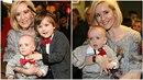 Jovanka vyvedla své syny na premiéru Ferdy Mravence.