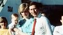 Princ Charles byl skoro stejně vysoký jako jeho žena Diana