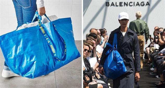 26557aacb Módní fail dne: Luxusní kabelka stojí majlant, vypadá ale jako IKEA taška