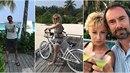 Emanuele Ridi a Lucie Hunčárová jsou na Maledivách.