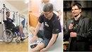 Michal Jančařík dělá velké pokroky. Jeho nohy jsou ale stále slabé.