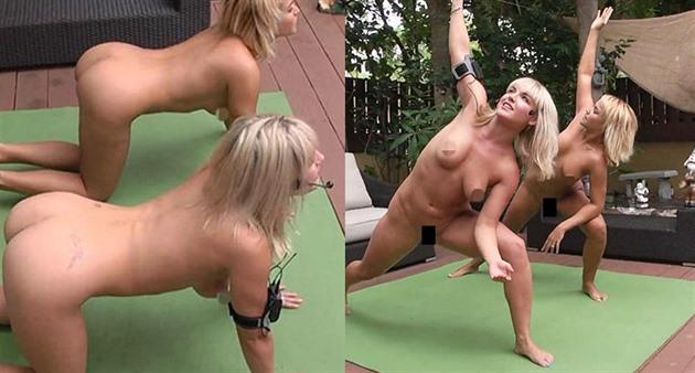 sex s tetou nahá joga