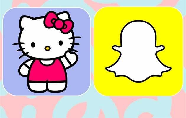 Hello Kitty na Snapchatu
