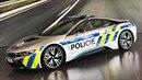 Nové BMW i8 půjde k dálniční policii.