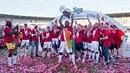 Slavia slaví titul po osmi letech.