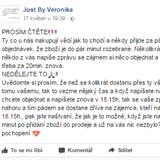 Veronika prodává nejrůznější oblečení od levné konfekce až po drahé značky.  Gratulujeme každému d6e74c2f9d