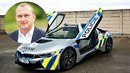 Vladimír Kruliš, bývalý chlapec Kate Zemanové, seděl v policejním BMW i8.