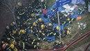 NBa místě zasahovalo na 200 hasičů.
