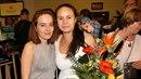 Tereza Voříšková s maminkou.