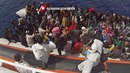 Libyjská  cesta do Evropy je dnes pro uprchlíky nejfrekventovanější způsob