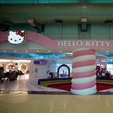 Hello Kitty terminál na Taiwanu