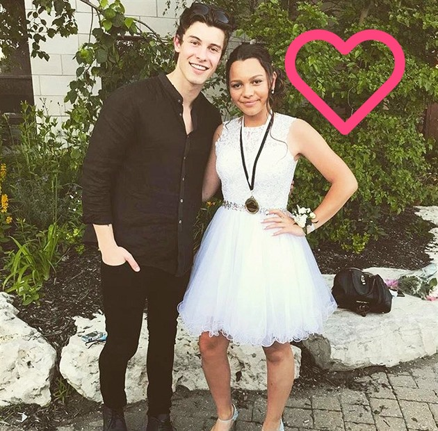 Shawn Mendes a jeho ségra Aaliyah
