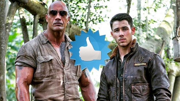 Dwayne Johnson a Nick Jonas