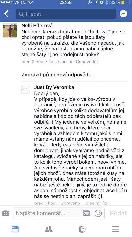 Obchodní praktiky Veroniky Kopřivové řeší Česká obchodní inspekce ... b6abe49684