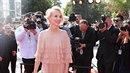 Jana Plodková na červeném koberci vypadala jako princezna.