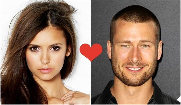 Nina Dobrev a Glen Powell