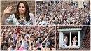 Prineczna Kate okouzluje Polsko