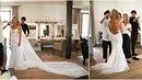 Nevěsta Monika během svatebních příprav