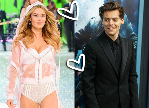 Camille Rowe / Harry Styles